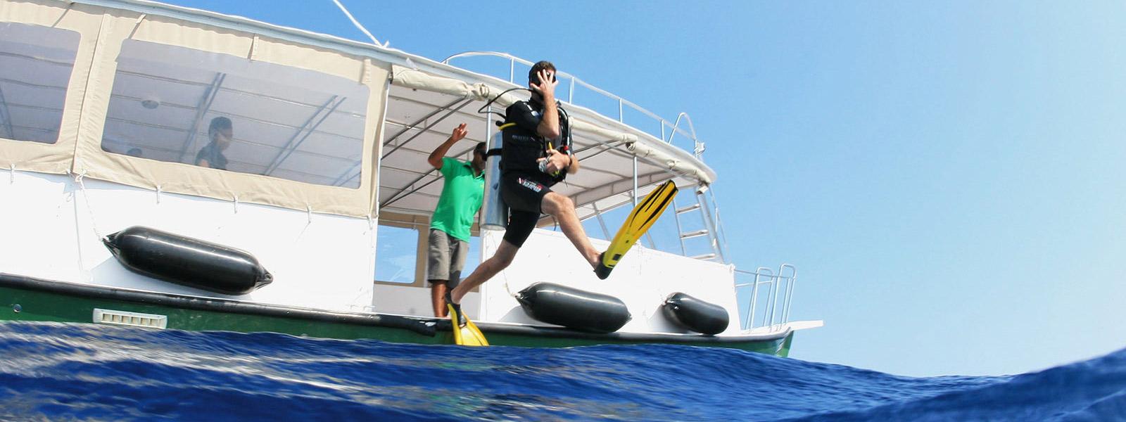 Maldives Scuba Diving Boat