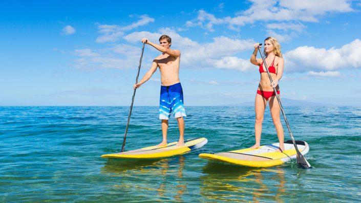 Stand Up Paddle Boarding Maldives