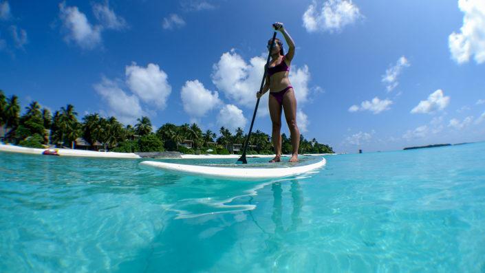 Maldives Water Sports Paddle Boarding
