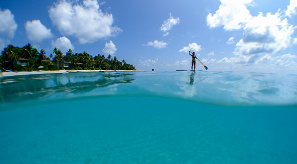 Maldives Water Sports Paddle Boarding
