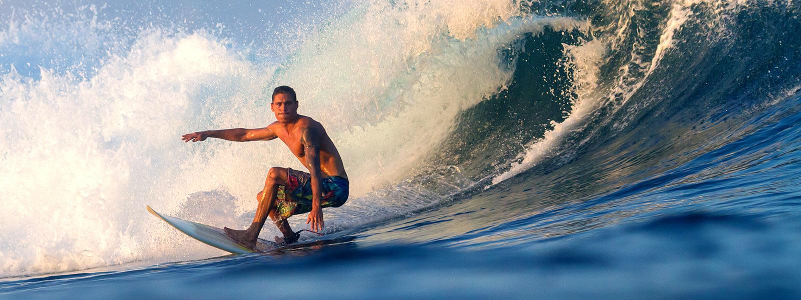Surfing Maldives Watersports